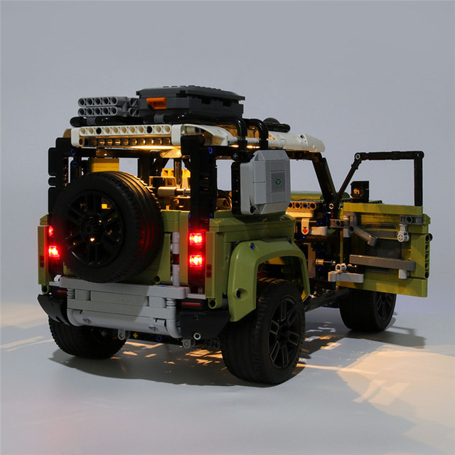 USB Powered Building Blocks LED Lighting Kit for 42110 blocks accessories (LED Included Only, No Kit) 3