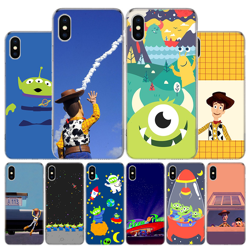 <font><b>Toy</b></font> <font><b>Story</b></font> Pizza Planet Phone Case For Apple <font><b>Iphone</b></font> 11 Pro X XR XS Max 7 8 <font><b>6</b></font> 6S Plus 5 SE 7G 6G + Art Cover Coque <font><b>Capa</b></font> Shell image