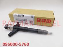 Genuine Diesel Common Rail Fuel Injector 095000-5760 for 4M41 Pajero / Montero 1465A054