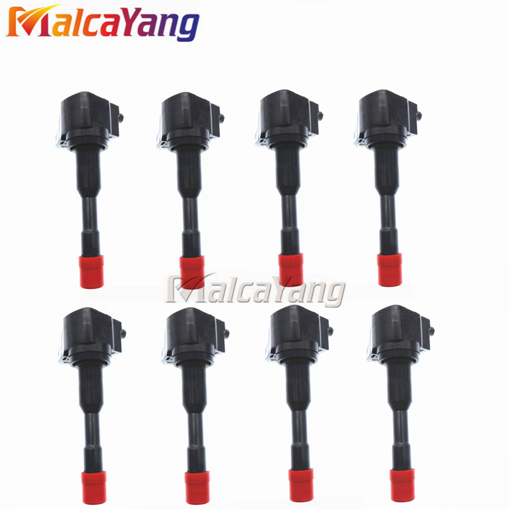 8PCS/LOT 30520-PWA-003 30521-PWA-003 <font><b>30521PWA003</b></font> For Honda Civic 7 8 VII VIII JAZZ FIT 2 3 II III 1.2 1.3 1.4 Ignition Coil Pack image
