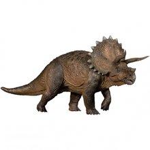 Pré-venda 1:35 nanmu triceratops pesado lance dinossauros pré-histórico modelo animal brinquedo cor original