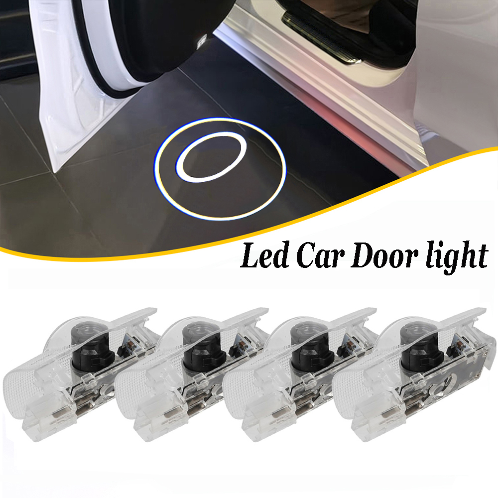 Car Door Lights Logo Projector Welcome Lamp For Toyota Avalon Land Cruiser Tundra Venza Prius Camry Highlander Sequoia Sienna