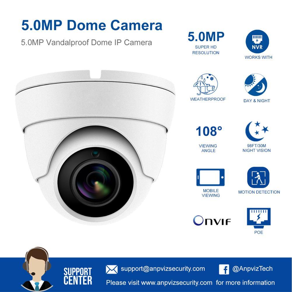 câmera de rede grande angular 2.8mm 30 m ir onvif