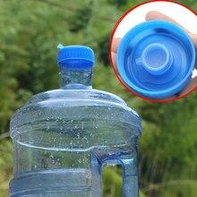 5Pcs Gallon 55mm Drinking Water Bottle Screw on Cap Replacement Anti Splash Lids Reusable