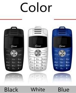 Image 5 - Mini llavero de teléfono con doble Sim, marcador de voz mágico, Bluetooth, grabadora de Mp3, Mini llave de coche para niños, teléfono móvil pequeño X6