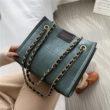 Women Bag Vintage Retro Chain Totes Women