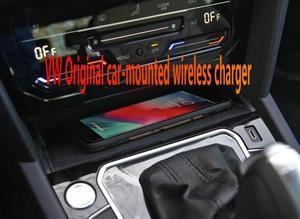Cargador inalámbrico original para coche PASSAT/CC V W, cargador inalámbrico (con interfaz TYPEC), módulo de carga Original 5NA 980 611
