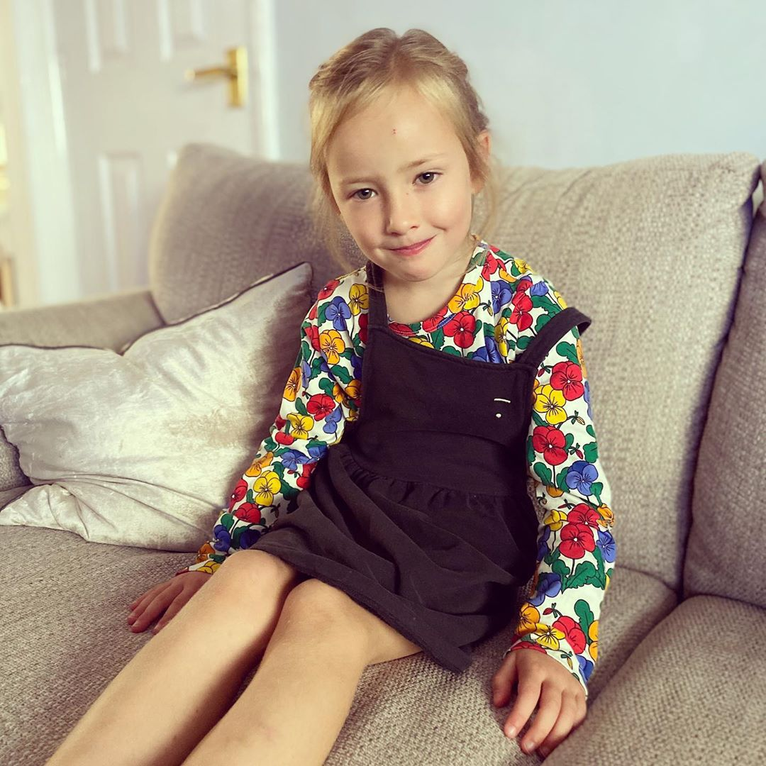 MINI Brand Kids Clothes T-shirts 2021 Autumn Girls Full Floral Pattern Dress Cotton Fashion Baby Romper Girl Boys Casual Pants 3