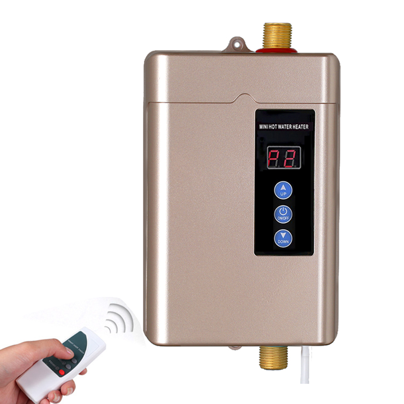 110V/220V Instant Shower Heater Hot Water Heater Smart Touch Heating Fast Kitchen Electric Faucet With Temperature Display
