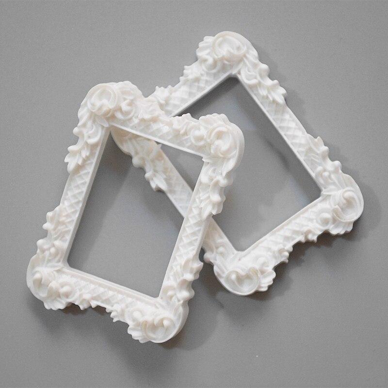 12 Pcs / Lot Dollhouse Miniature Art Picture Photo Painting Frame Home Decor 1:12 Scale