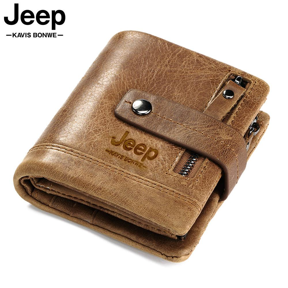 HUMERPAUL Genuine Leather Wallet Fashion Men Coin Purse Small Card Holder PORTFOLIO Portomonee Male Walet for Friend Money Bag(China)