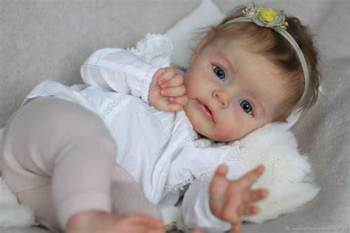 NPK 22inch reborn supply doll kit Poluplar Sue-Sue by NATALI BLICK limited edition image
