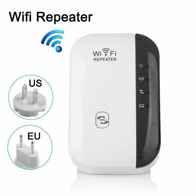 2020 New Arrival WiFi Blast Wireless Repeater WiFi Range Extender 300Mbps Amplifier WiFi Boosters US / UK / EU Plug /