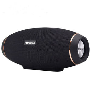 HOPESTAR H20 colonne de haut-parleur Bluetooth Rugby sans fil Portable Mini étanche méga basse stéréo Subwoofer extérieur TF USB