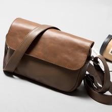 Men's Shoulder Bag High Quality Male Crossbody Bag Satchel PU Leather Messenger Bags For Men 001f men s pu leather inclined crossbody bag