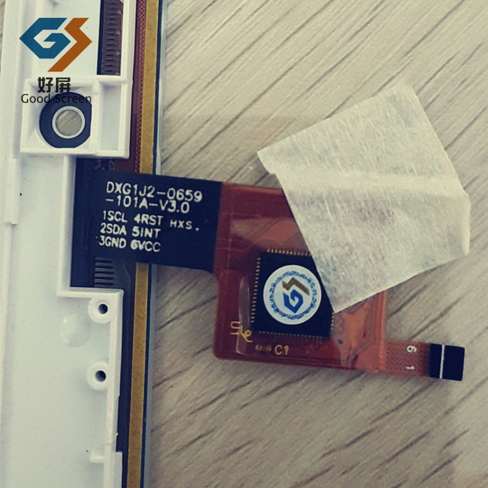 Белый сенсорный экран для Teclast X16 плюс емкостный сенсорный экран панель Ремонт Запасные части