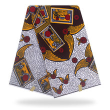 african fabric wax Real Dutch Wax High-quality Prints In Original 100% Cotton Veritable African Ankara Fabric