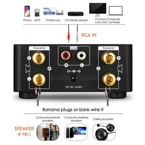Image 5 - Nobsound Mini Bluetooth 5.0 Power Amplifier Receiver Stereo 2 Ch Home Audio Car Amp USB U disk Music Player With 19V Adapter