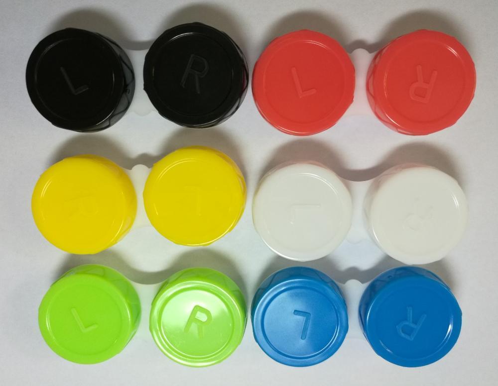 1500 шт/партия хозяйственная сумка для объектива 6 цветов | CE помеченный PP mate rial CL коробка | контейнер для контактных линз