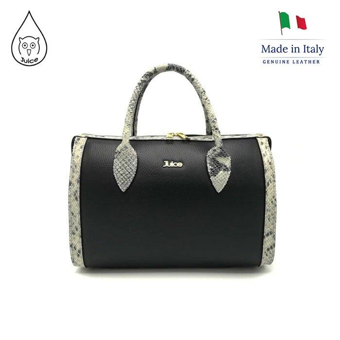 Juice Brand, Genuine Leather Bag Made In Italy, Shoulder Handbag 118.412