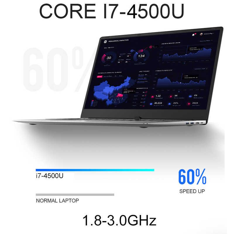 Ноутбук Core i7 15,6 дюйма с 8G ram 1TB 512G 256G 128G SSD игровой компьютер-лэптоп с подсветкой клавиатуры ips металлический ноутбук