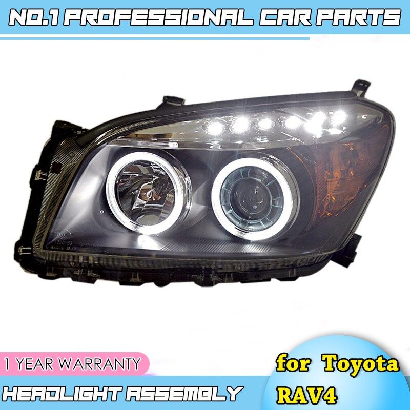 Style de voiture de première classe pour Toyota RAV4 phares 2009 2010 2011-2013 pour RAV4 lumière LED Q5 bi lentille xénon h7 lumière xénon