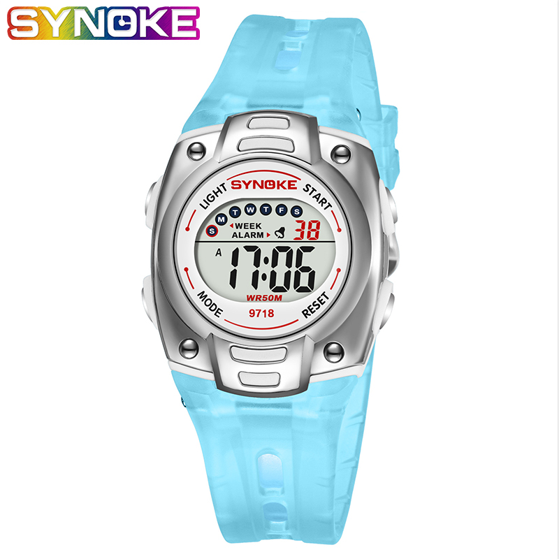 SYNOKE Silicone Children's Watch Kids Watches Boys Waterproof Baby Sports Watches Relogio Infantil Menino Dropshipping 2019