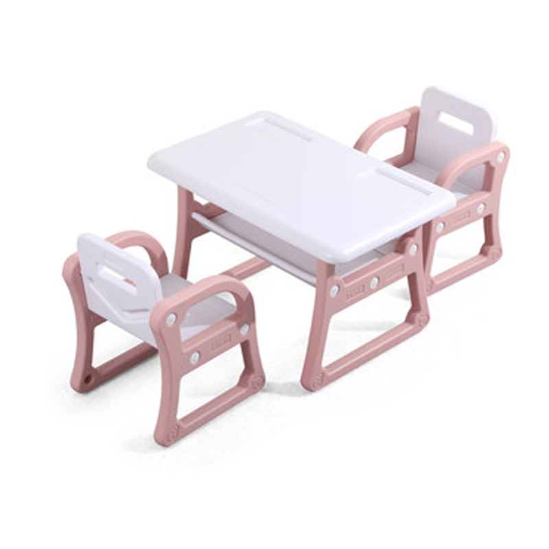 H1 Kindergarten Children's Table Chair Set Baby Painting Writing Learning Plastic Toy Table And Chairs Kids Table And Chair
