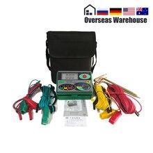 Megohmmeter Medidor de resistencia a Tierra Digital Real de 0 a 2000 Ohm, probador DY4100, instrumentos de inspección de reparación de automóviles, electricista