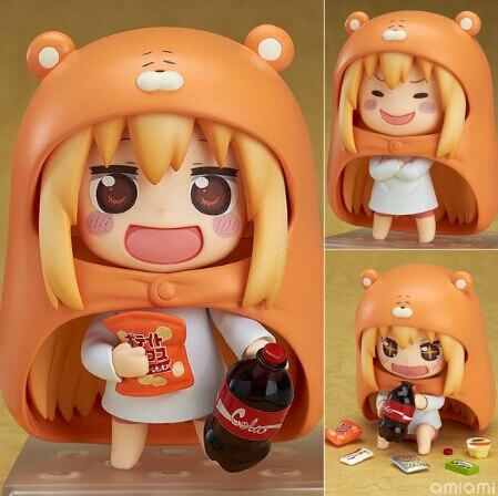 Lolita Sankaku Head Himouto! Umaru-chan Umaru Figure Doma MARMOT Hamsters  10CM Model Action Figures Pvc Rinquedo