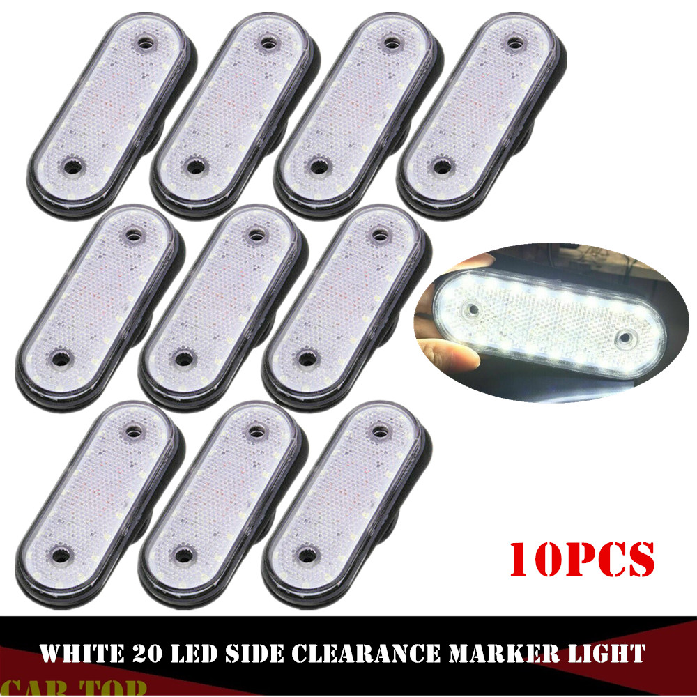 10PCS Side Marker 24v LED Lights Truck Light Markerings Light LED Trusk Lamp LED Marker Lights Pickup Truck
