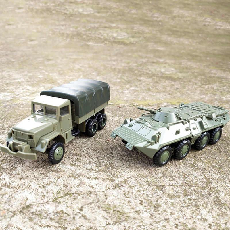 1:72 Америка M35, грузовик svit BTR 80, колеса бронированные машины, комплект модели без резины, военный автомобиль, игрушки для детей, мальчиков