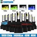 Светодиодный H7 H1 H3 H16 ЕС HB3 HB4 H10 9005 9006 9012 HIR2 9004 5202 HB1 Автомобильный светодиодный головной светильник лампы Белый цвет желтый, синий; размеры 34–...