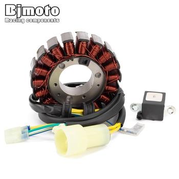 BJMOTO Motorcycle Generator Stator Coil For Honda TRX300EX Sportrax 300 EX 1993-2008 TRX300X 2009 31120-HM3-671 11395-HM3-670