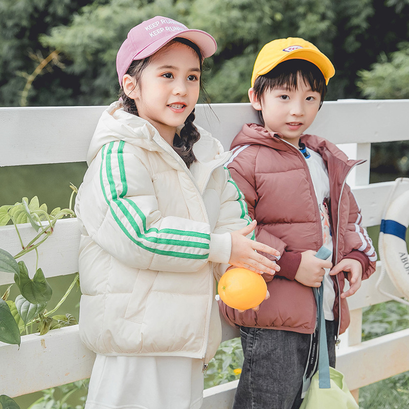 Coat Zipper-Jacket Girls Boys Kids Winter Autumn Fashion And Candy Cotton New-Arrival