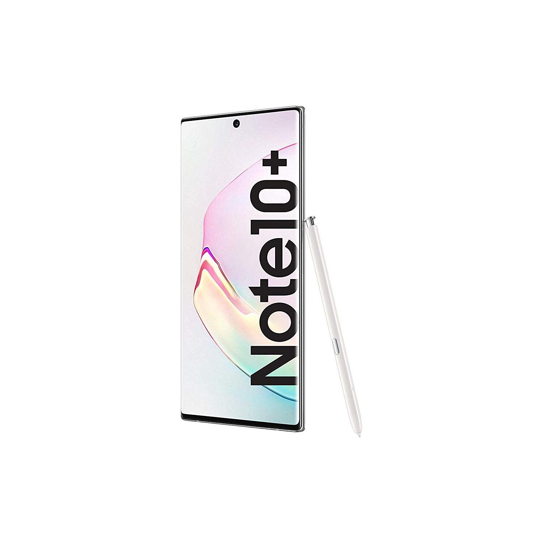 Samsung Galaxy Note10 Plus (SM-N975F), couleur blanc (blanc), 256 go de mémoire interne 12 go de RAM, double SIM, appareil photo