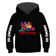 Among Us New Video Game Hoodies boy and girl Impostor Graphic Anime Streetwear Cartoon Sweatshirt Hip Hop Hoodie factory outlet