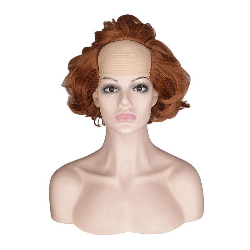 Filme stephen king it s it pennywise palhaço joker peruca cosplay o palhaço pennywise laranja curto cabelo sintético halloween role play