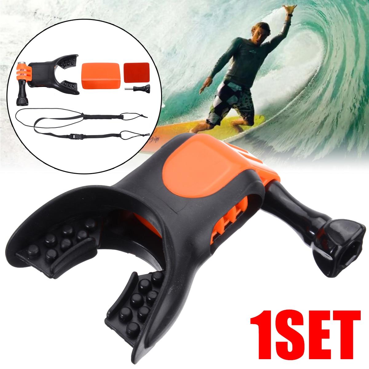 1SET Surfing Shoot Surf Dummy Bite Mouth Mount Teeth Braces Holder For GoPro Hero 4/3+/3/2/1 Camera