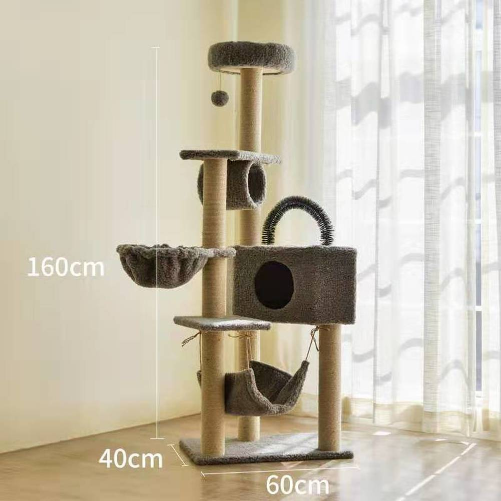 Cat Scratcher Tree Tower Condo Home Furniture Pets House Cats Climbing Frame Jumping Toy For Kitten Cat Scratching Post Tree Aliexpress