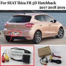 Car Parking Camera FOR SEAT Ibiza FR 2017 2018 2019 5D hatchback HD CCD Night Vision Back up Reverse Camera Car Rear View Camera