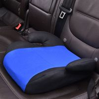 Car Booster Kids Seat Safety Sturdy Chair Cushion Pad for Toddler Children X7JF