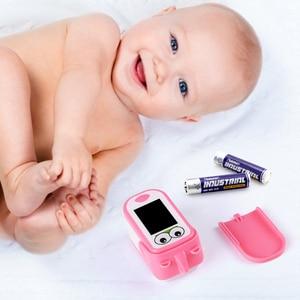 Image 3 - Baby Finger Pulse Oximeter Pediatric Oximetro De Dedo SpO2 Children Kids Fingertip Pulsioximetro Handheld Digital PR Counter LED