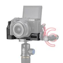 Uurig Arca Phát Hành Nhanh L Plate Cho Canon M6 Mark II Với Giày Lạnh 1/4 Vít Để Micro