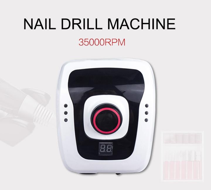 aparelho para manicure pedicure ferramentas de arquivo