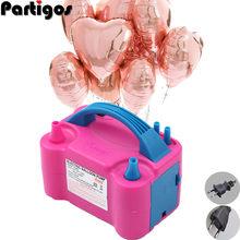 Pompe électrique 220V/110V pour gonflage ballons, compresseur d'air buse à double jet avec prise électrique, souffleur d'air