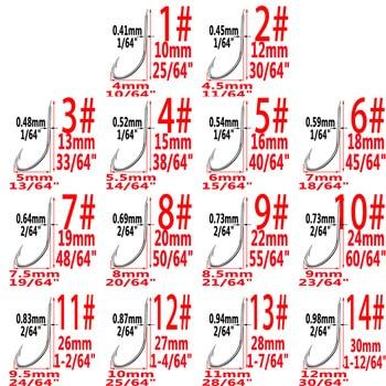 Best 100pcs Series High Carbon Steel Fly Fishhooks Hook Fishhooks cb5feb1b7314637725a2e7: size1 100pcs|size10 100pcs|size11 100pcs|size12 100pcs|size13 100pcs|size14 100pcs|size2 100pcs|size3 100pcs|size4 100pcs|size5 100pcs|size6 100pcs|size7 100pcs|size8 100pcs|size9 100pcs