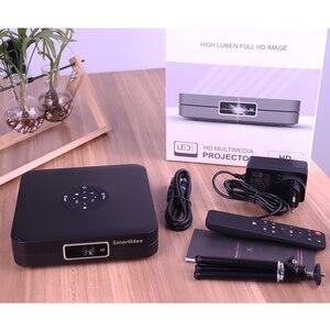 Image 2 - Smartldea K1 HD DLP מקרן אנדרואיד 2G RAM 32G ROM 4K 3D בהירות גבוהה מקרן 5G wifi airplay וידאו משחק proyector