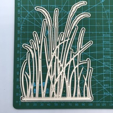 Cutting-Dies Scrapbooking Grass Cuts Craft Metal Diy-Paper/photo-Cards for New-Design