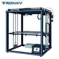 2019 impresora Tronxy 3D X5SA-400/X5ST-400/X5SA tamaño de impresión más grande 3,5 pulgadas TFT pantalla táctil PLA filamento ABS
